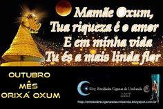 Entidades Ciganas da Umbanda (Clique Aqui) para entrar.: OUTUBRO MÊS DA ORIXÁ OXUM