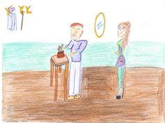 Un disegno di Irene B.