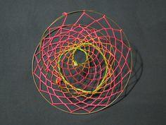 3D dreamcatcher Mobius-like. $35.00, via Etsy.