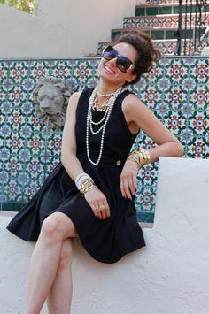Little Black Dress by CarouselsAndLace on Etsy, $19.99