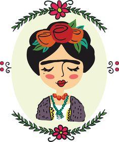 Frida Kahlo illustration on Behance