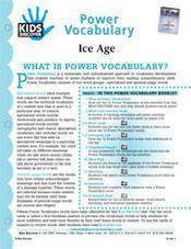 Ice Age - KIDS DISCOVER Magazine