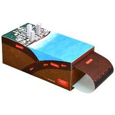 Teoría de los terremotos - Ciencias Naturales - Ciencia - Arte de papelCanon CREATIVE PARK
