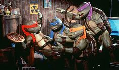 Teenage Mutant Ninja Turtles - Cawabanga, dude!