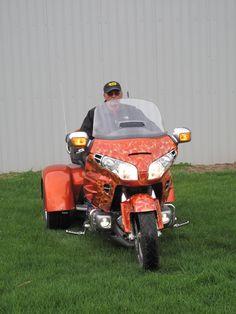Goldwing Trike, Mean Machine, Sidecar, Atv, Honda, Motorcycles, Wings, Bike, Facebook