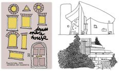 Cicada Books' Draw Me A House is a playbook for budding architects and anyone interested in the built environment. Illustrated by Thibaud Herem, it celebrates the primary delights of architecture, inviting people of all ages to color in, think about, doodle and engage with basic architectural elements. Both educational and entertaining, Draw Me a House takes the reader on a journey through architectural styles from Gothic church spires to contemporary eco-design, and out the other side to…