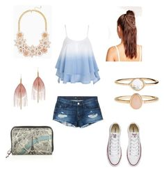 """""""Blue and Pink"""" by carlavecchio123 on Polyvore featuring 3x1, Missguided, Converse, Accessorize, Serefina and Christian Louboutin"""