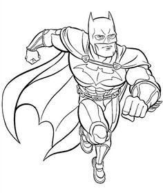 batman coloring pages - Batman Pictures To Color