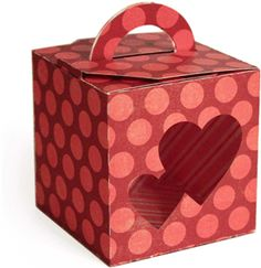 Silhouette Online Store: 3d handled box - hearts by Snapdragon Snippets