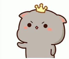 Cute Cartoon Pictures, Cute Love Cartoons, Chibi Cat, Cute Chibi, Cute Anime Cat, Cute Animal Drawings Kawaii, Little Panda, Kitten Gif, Cute Cartoon Wallpapers