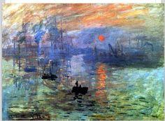 """""""Sunrise"""" by Claude Monet❤️"""