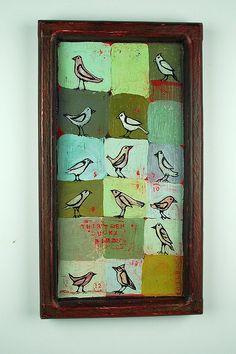 ... barb gilhooly ... thirteen lucky birds ... via her flickr ...