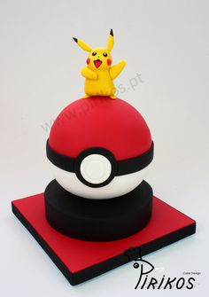 Pirikos Cake Design: Pikachu