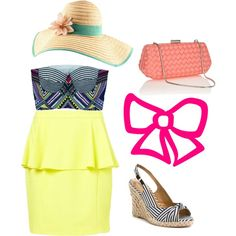 Designer Clothes, Shoes & Bags for Women Mara Hoffman, Peplum Dress, Topshop, Shoe Bag, Polyvore, Stuff To Buy, Shopping, Collection, Dresses