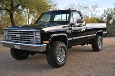 Rare factory Black 1986 Chevy K30 454 4wd 1Ton Silverado loaded! Extra sharp!, US $24,500.00, image 1
