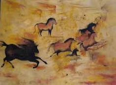 The Lascaux cave paintings were discovered in Montignac, France in 1940. These are prehistoric accidently found by four teenagers. They are estimated ot be between 15,000 and 17,000 years old.