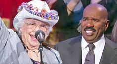 Country Music Lyrics - Quotes - Songs Steve harvey - Yodeling Grandma Has Steve Harvey Crackin' Up With Spunky Country Performance - Youtube Music Videos https://countryrebel.com/blogs/videos/yodeling-grandma-has-steve-harvey-crackin-up-with-spunky-country-performance