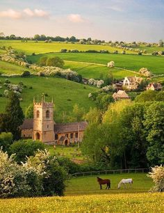 English Countryside. I'm in love with this place and I've never been. All the grass reminds me of where I grew up in St. Vincent.