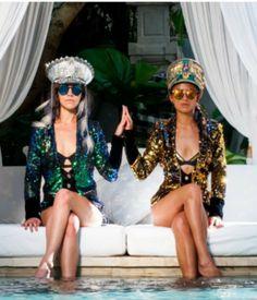 Love Khaos Sequin Tailcoats