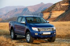 The big boy Ford Ranger 2013! Able to conquer any surface!