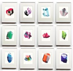 Elisa Werbler: The Birthstones via designworklife