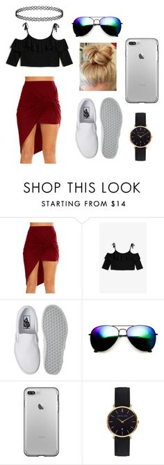 """Untitled #84"" by kayybaeee on Polyvore featuring Monki, Vans, ZeroUV and Abbott Lyon"