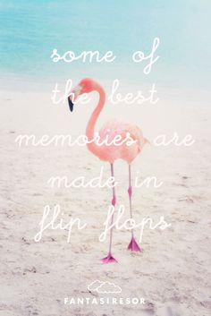 """""""Some of the best memories are made in flip flops"""" www."""