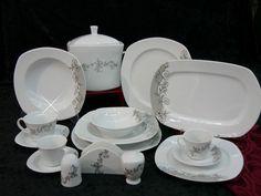 Tafelservice  12 Personen Porzellan Essservice Geschirr Kütahya Porselen Kombi