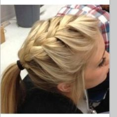 pretty! though my braids never look this good, ha! | hairstyles