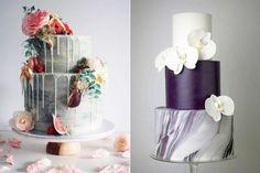 Bolo inspiração para bodas de mármores   39 anos de casados   aniversário de casamento   blog nossas bodas