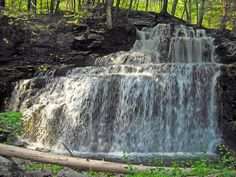 14) Savantine Falls, Delaware State Forest, Pike County