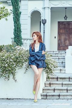 Yoo In Na - Marie Claire Magazine April Issue Asian Actors, Korean Actresses, Korean Actors, Actors & Actresses, Yoo In Na Fashion, Korean Fashion, Girl Fashion, Korean Celebrities, Celebs