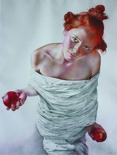 Romanian artist Gheorghe Miron  http://artinfonews.ro/wp-content/uploads/2015/03/pacatul-pacatului.jpg