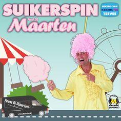 Feest DJ Maarten - Suikerspin Hand Fan, Home Appliances, House Appliances, Appliances, Fan