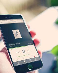 Case Study - Music Player  // #iPhone #app #design #ui #graphicdesign #dribbble #behance