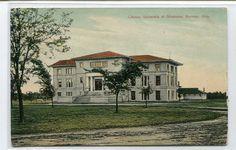 Library University of Oklahoma Norman OK 1908 postcard