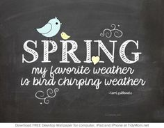 Free Chalkboard April Spring Desktop Wallpaper at TidyMom.net