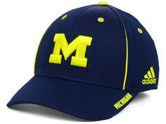 adb93d098db Michigan Wolverines adidas NCAA 2014 Coaches Flex Hat