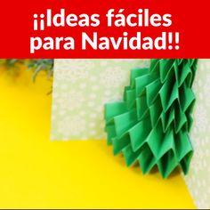 Estas ideas navideñas te van a encantar. Podrás hacer tus propios adornos navideños en casa.
