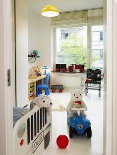 Habitaciones infantiles decoradas con coches