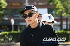Rap Monster always rocking black ❤ #BTS #방탄소년단