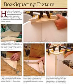 #1600 Box Squaring Fixture - Furniture Assembly Tips, Jigs and Techniques
