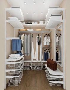 Room Decor Ideas Ideas Walk In Closet Ikea Algot Storage Systems Your Style, Your Budget Tired o Bedroom Storage For Small Rooms, Bedroom Closet Storage, Bedroom Closet Design, Bedroom Wardrobe, Garage Bedroom, Bedroom Small, Garage Closet, Bedroom Closets, Algot Ikea