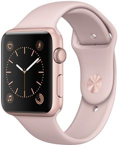 Apple Watch Series 2 42mm Rose Gold Aluminum Case with Pink Sand Sport Band-Perfect Gift For My Wife! I am an affiliate, and I will receive compensation, at no cost to you, if you purchase this item. Thank you for looking.