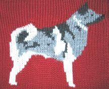 Norwegian Elkhound design.