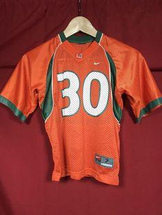 2374fea166f4 Toddler Nike Miami Football Jersey Hurricanes Orange The U