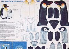 "Mama & Baby ""The Emperor Penguines"" Fabric Panel*"