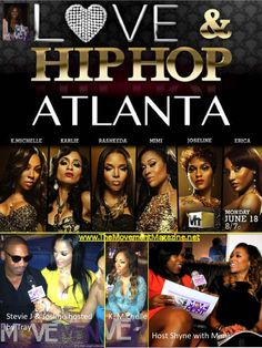 VH1's hit series Love & Hip Hop Atlanta's own Stevie J, Joseline, K. Michelle and MiMi gives an exclusive interview with The Movement Magazine