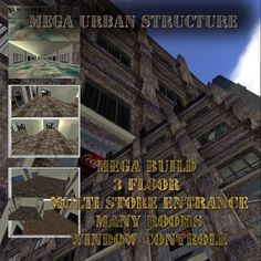 Mega Urban Structure 380 impact copy modify