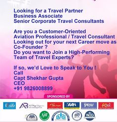 Travel Partners to Work From Home Looking for a Travel Partner Business Associate Senior Corporate Travel Consultants / Tr. Narmada River, Bookmarking Sites, Senior Trip, Beautiful Park, Find Hotels, Co Founder, Work From Home Jobs, Business Travel, Writing A Book